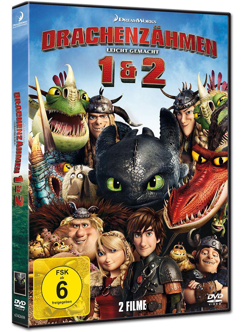 drachenzähmen leicht gemacht 12 2 dvds dvd filme