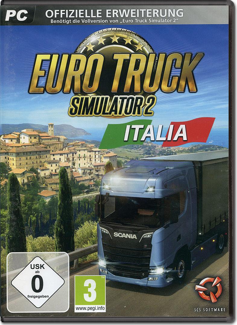 euro truck simulator 2 italia pc games world of games. Black Bedroom Furniture Sets. Home Design Ideas